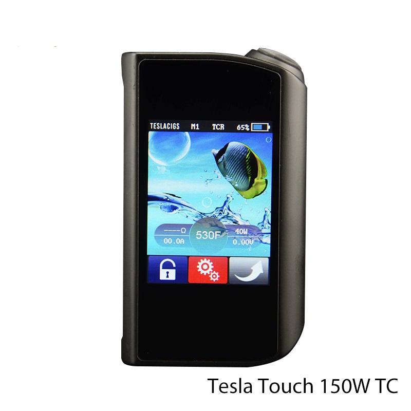 Box Mod Tesla Touch Screen 150W TC de TESLACIGS